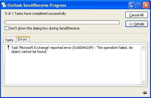 0x8004010F_operation_failed